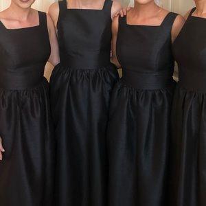 Maxi Alfred sung bridesmaid dress in black sz 6